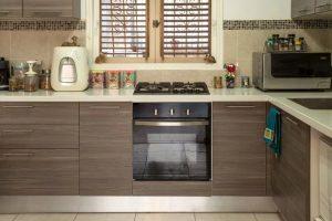 El horno y los procedimientos de limpieza