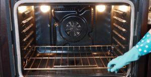 Limpieza de horno por dentro
