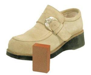 Limpiar zapato de ante beige