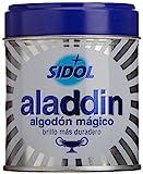 Aladdin - Algodón Limpia Metales, Pack de 3 x 75...