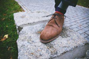 zapatillas gamuza limpiar