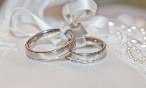 Limpiar anillos de oro blanco