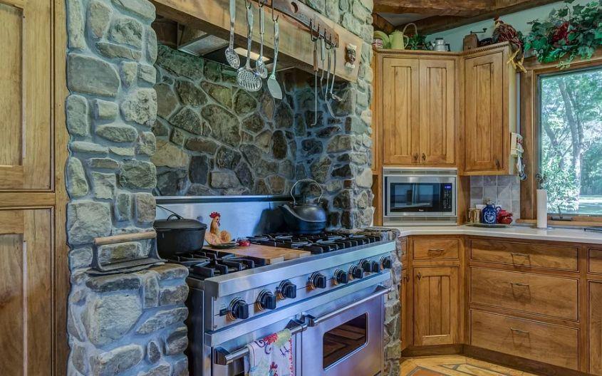 Limpiar muebles de cocina de madera