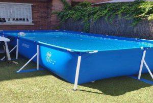 Limpiar el agua verde de piscinas desmontables